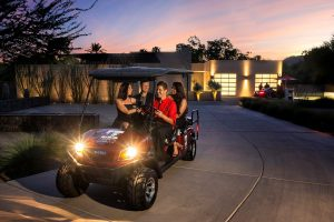 Private Party Golf Cart Valet Services - Event Preview