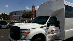 Shuttle Services for Sports by American Valet - Arizona Cardinals