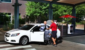 Emergency Care Valet in Phoenix Hospital View