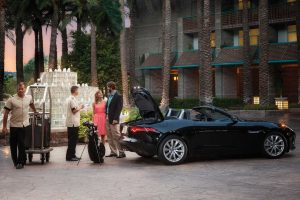 Hotel Valet Parking Services Resort with American Valet