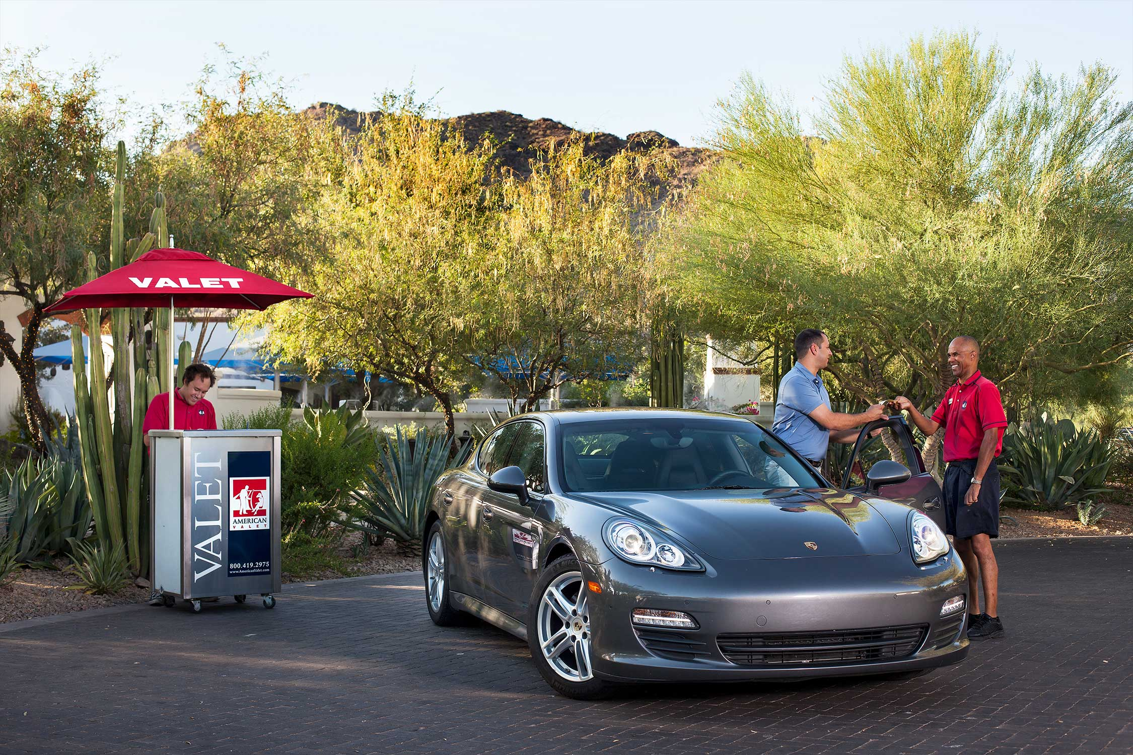 Retail Valet Parking Services by American Valet in Scottsdale