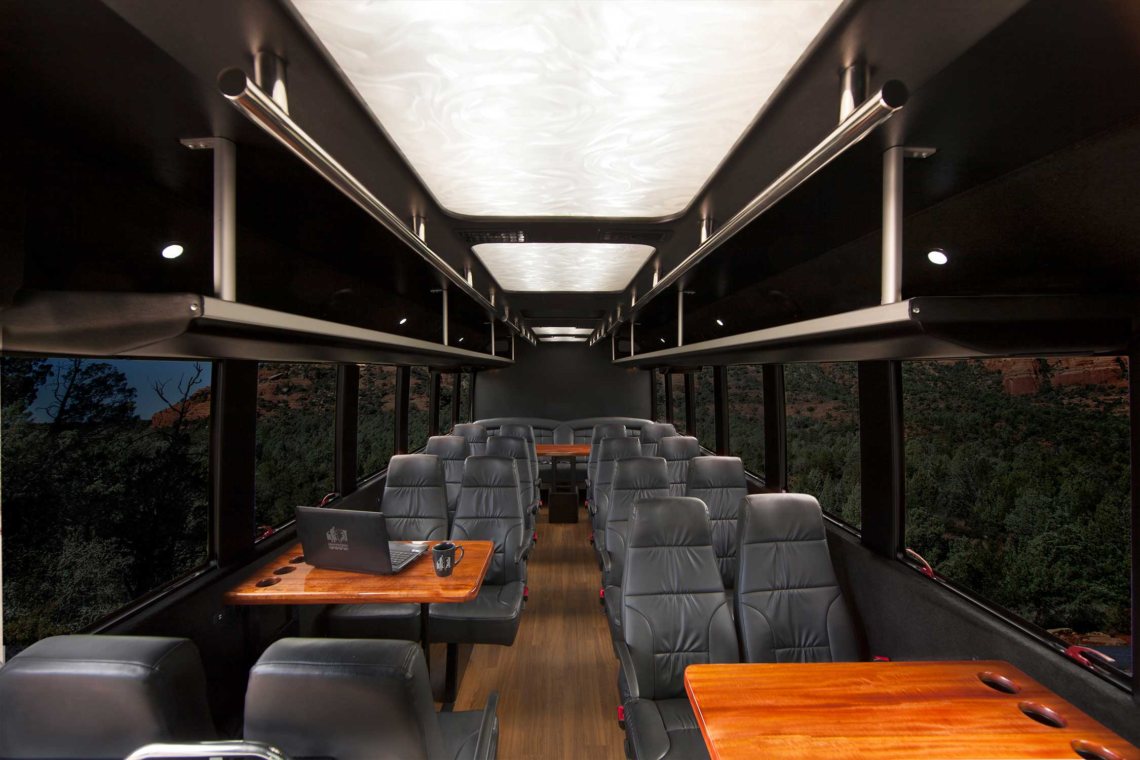 Shuttle Services Luxury Bus Preview