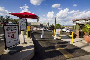 Nogales Border Parking Lot - American Valet Large Parking Lot