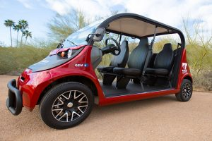 Golf Cart Transportation in Scottsdale Side Preview