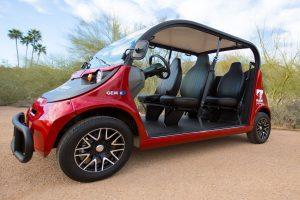 Golf Cart Rental in AZ Side View