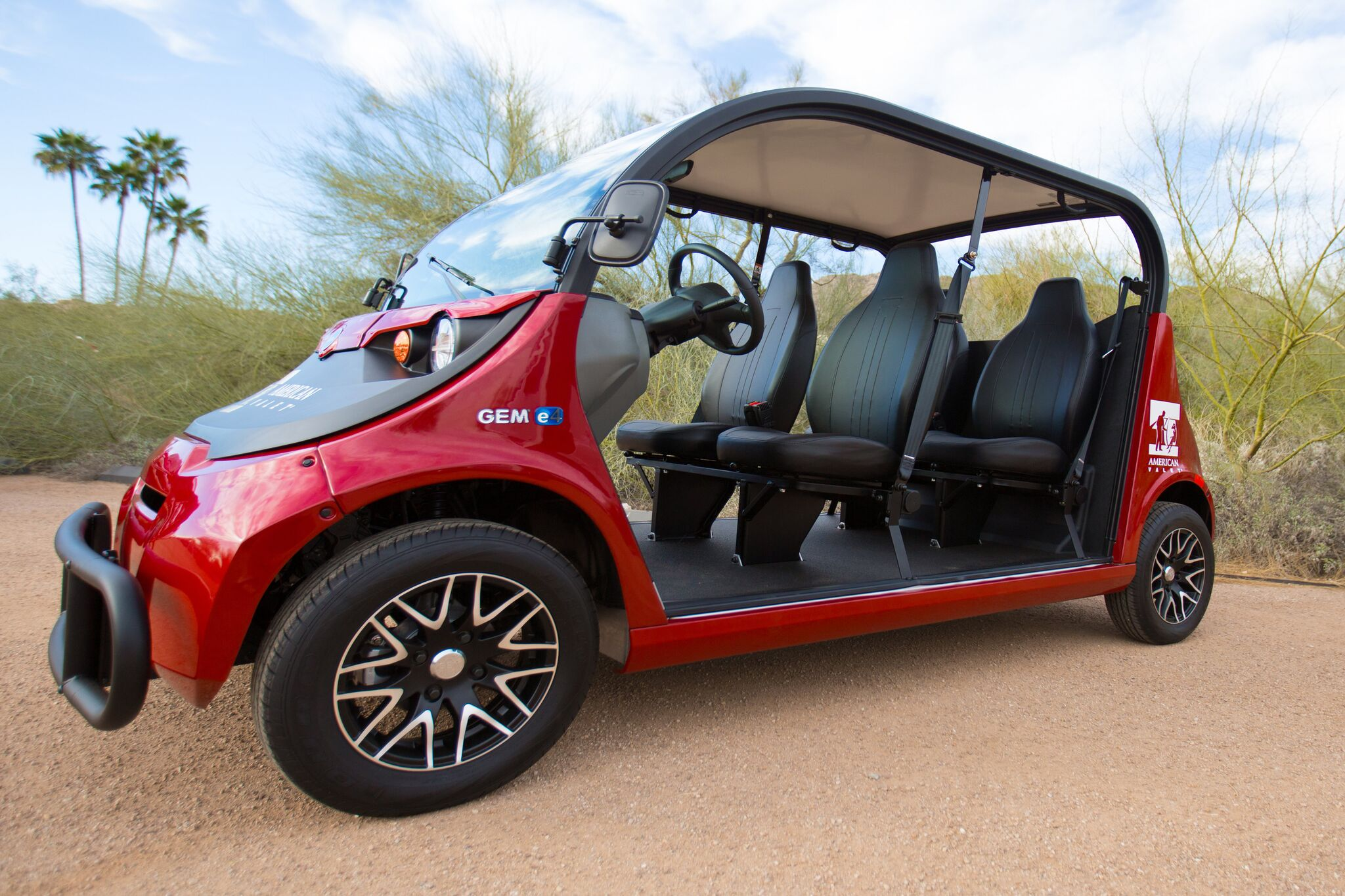 Golf Cart Rental in AZ Side View